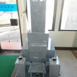 新南陽店に新しいお墓を展示しました。