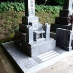 下松市の市営旗岡墓地に天山石のお墓が完成しました。