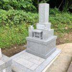 周南市の地域墓地にお墓を建てました!