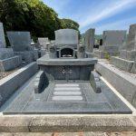 周南市営大迫田共同墓地に洋型のお墓が建ちました!
